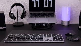 Space Grey Matias Aluminum Keyboard - Backlit + 1yr Battery