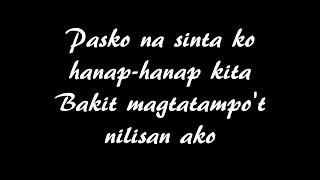 Gary Valenciano - Pasko Na Sinta Ko (Karaoke | Videoke | Minus One with Lyrics)