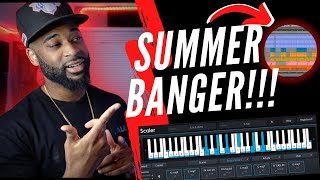 I Made A SUMMER BANGER Using SCALER 2!! Midi Mondays!! ITS A PLACEMENT HIT!!