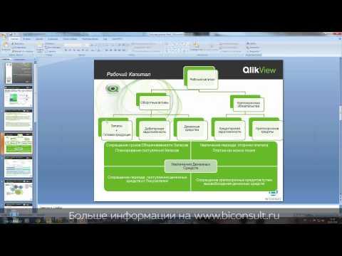 Анализ рабочего капитала часть 1 в QlikView управление рабочим капиталом анализ оборотного капитала