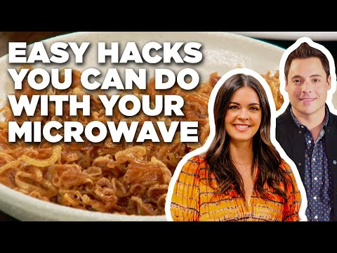 Easy Hacks You Can Do With Your Microwave | The Kitchen | Food Network