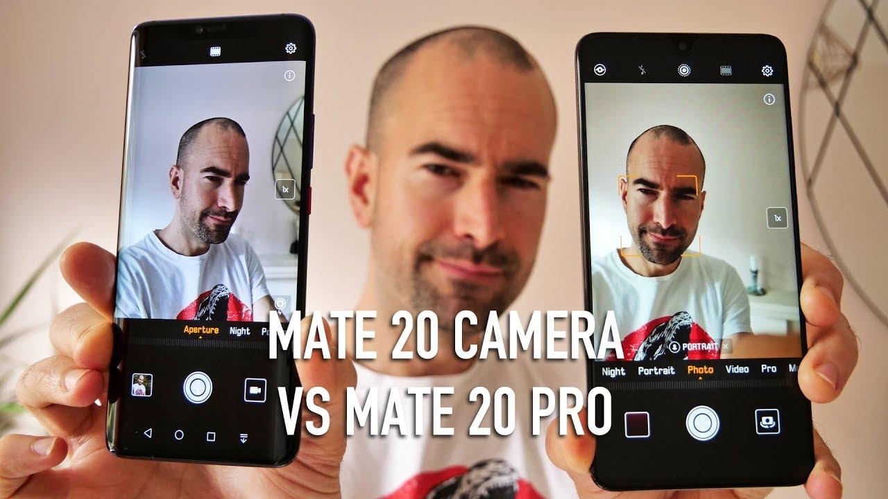 Huawei Mate 20 vs Mate 20 Pro | Camera Comparison