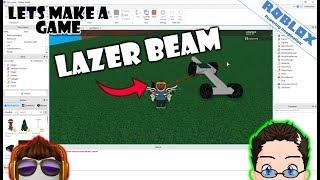 Roblox - Lets Make a Game - Woah, Lazer Beams! [Mouse Stuff]