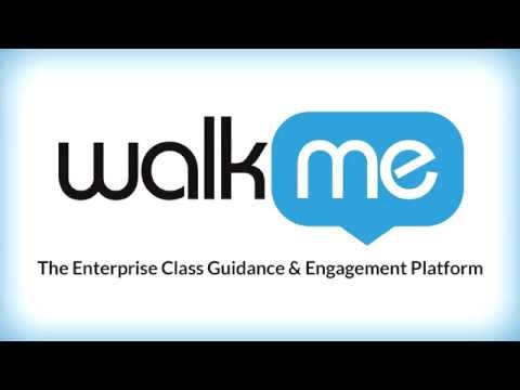 WalkMe uses and possibilities