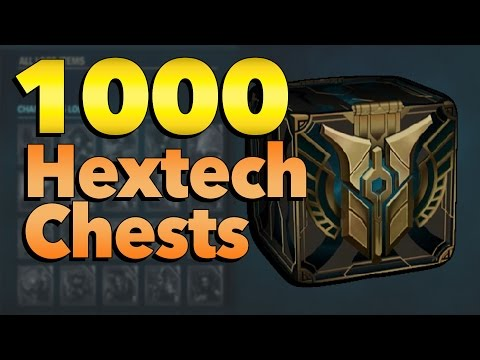 Loot From Opening 1000 Hextech Chests | League of Legends
