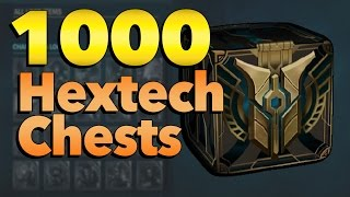 Loot From Opening 1000 Hextech Chests | League of Legends thumbnail