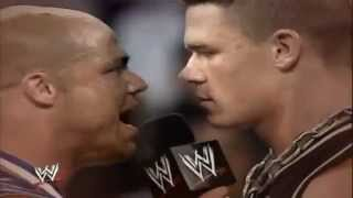 John Cena Vs Kurt Angle -WWE Promo No Mercy 2003