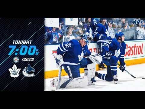 NHL 18 PS4. REGULAR SEASON 2017-2018: Toronto MAPLE LEAFS VS Vancouver CANUCKS. 12.02.2017. (NBCSN)!