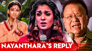 BREAKING : Nayanthara Opens Up on Radha Ravi's Sexist Comments | Controversial Speech