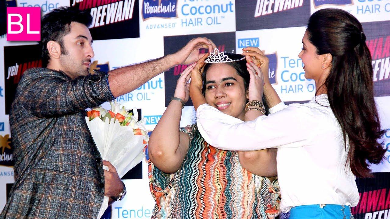 ranbir kapoor and deepika padukone promote yeh jawani hai