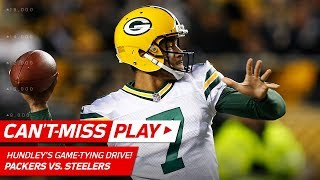 Brett Hundley Leads Game-Tying TD Drive Late in the Game!   Can't-Miss Play   NFL Wk 12