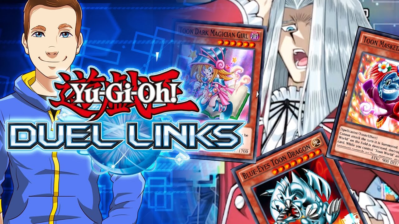 it u0027s a toon world yugioh duel links pvp pure toon deck youtube