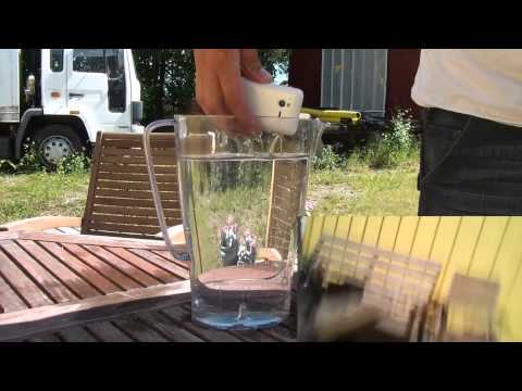 Sony Ericsson Xperia Active ST17i water test