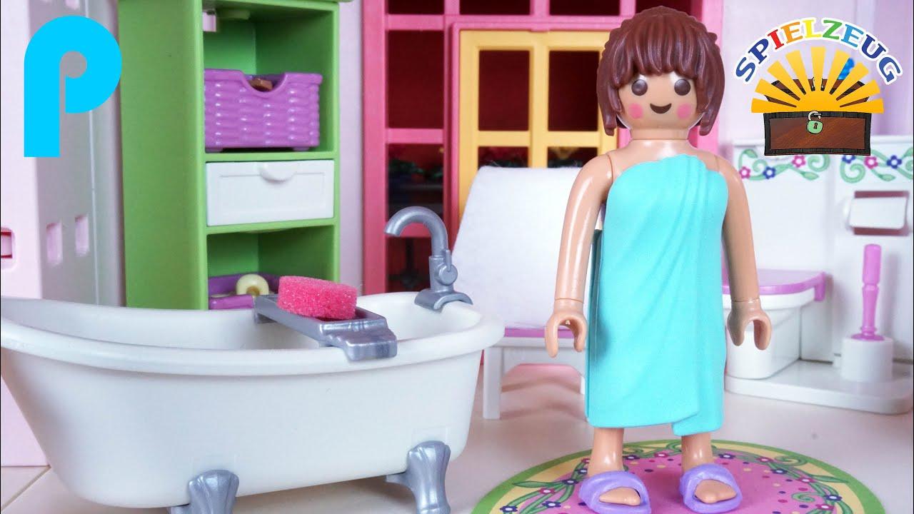Romantik Bad 5307 - Playmobil Puppenhaus Dollhouse Familie einrichten Haus  deutsch