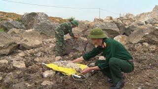 Bộ Chỉ huy Quân sự tỉnh Hòa Bình hủy nổ an toàn hai quả bom còn sót lại sau chiến tranh