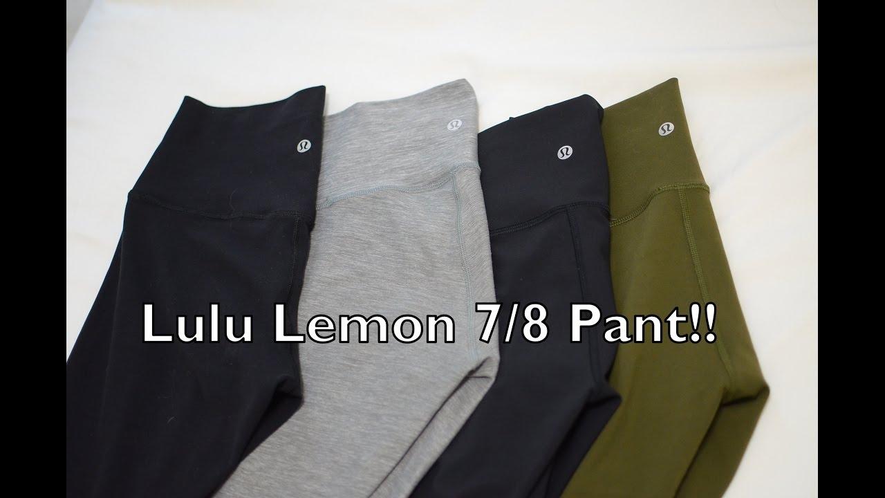 40c8cba410106 Must haves Lulu Lemon 7/8 Pants! Amazing for SO many reasons. - YouTube