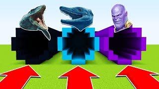 DO NOT CHOOSE THE WRONG TUNNEL: (THANOS, MOSASAURUS,TYLOSAURUS) (Ps3/Xbox360/PS4/XboxOne/PE/MCPE)