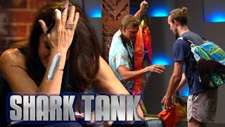 'Revolutionary' Backpackers Pitch Their FAILED Kickstarter Campaign | Shark Tank AUS