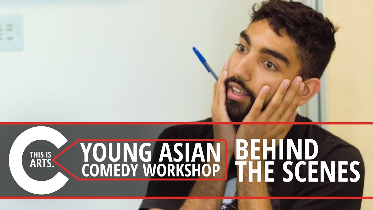 YOUNG ASIAN COMEDY WORKSHOP BEHIND THE SCENES
