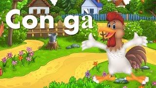 Dạy bé học nói con vật tiếng việt   em tập đọc con gà con công chim bồ câu   Dạy trẻ thông minh sớm