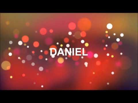 Alles Gute Zum Geburtstag Daniel Youtube