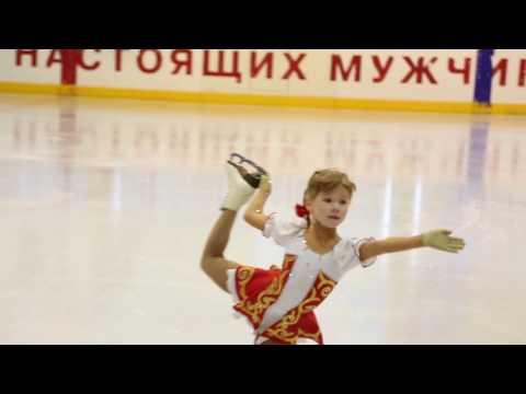 Ксюша Хотеева, 1 место, III Юношеский разряд, 2009 г.р., Кимры