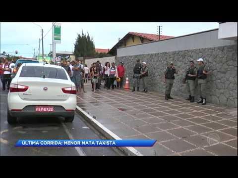 Menor confessa assassinato de taxista no Piauí