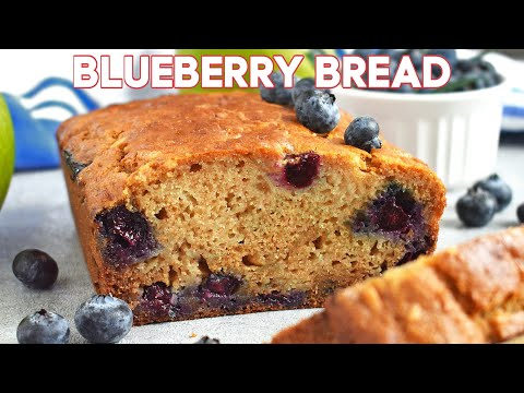 Apple Blueberry Honey Bread - Olga In The Kitchen