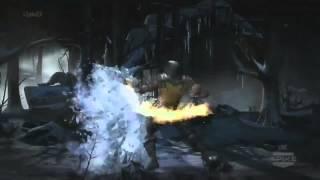 Mortal Kombat X - Gameplay Fatalities, X Ray, Moves MK 10 (E3 2014)
