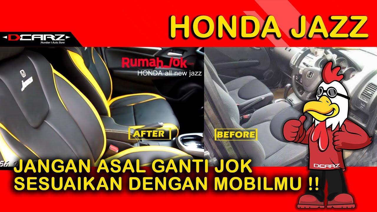 Desain Jok Mobil Honda All New Jazz Rs