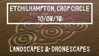 Etchilhampton, Wiltshire Crop Circle August 2018 4K