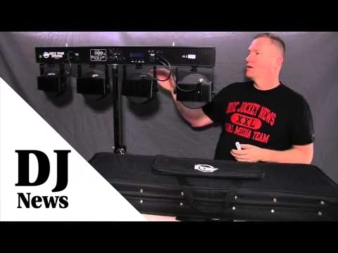 ADJ Dotz TPar System: By John Young of the Disc Jockey News #americandj