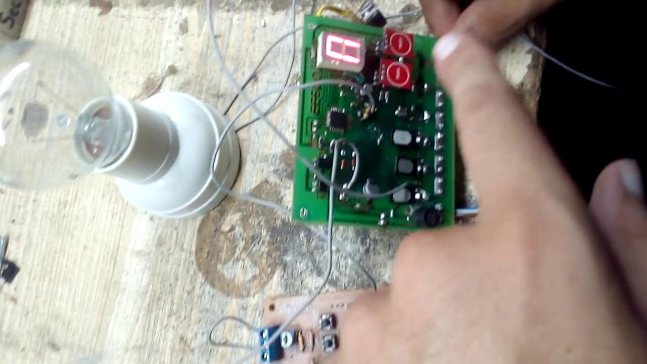 Ac Dimmer Via Arduino And Zero Crossing Easy Way Youtube Circuit