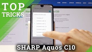 Top Tricks for SHARP Aquos C10 - Best Apps / Cool Features