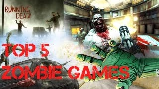 TOP 5 Free Zombie Games For iOS With Gameplay - November 2012