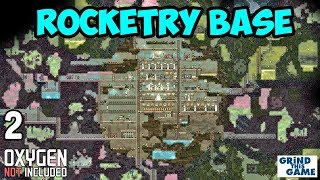 ROCKETRY UPGRADE BASE #2 - Oxygen Not Included - Rockets, Gassy Moos and more!