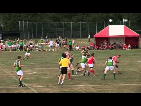 European Championship Grand Final Denmark v Ireland 1st Half