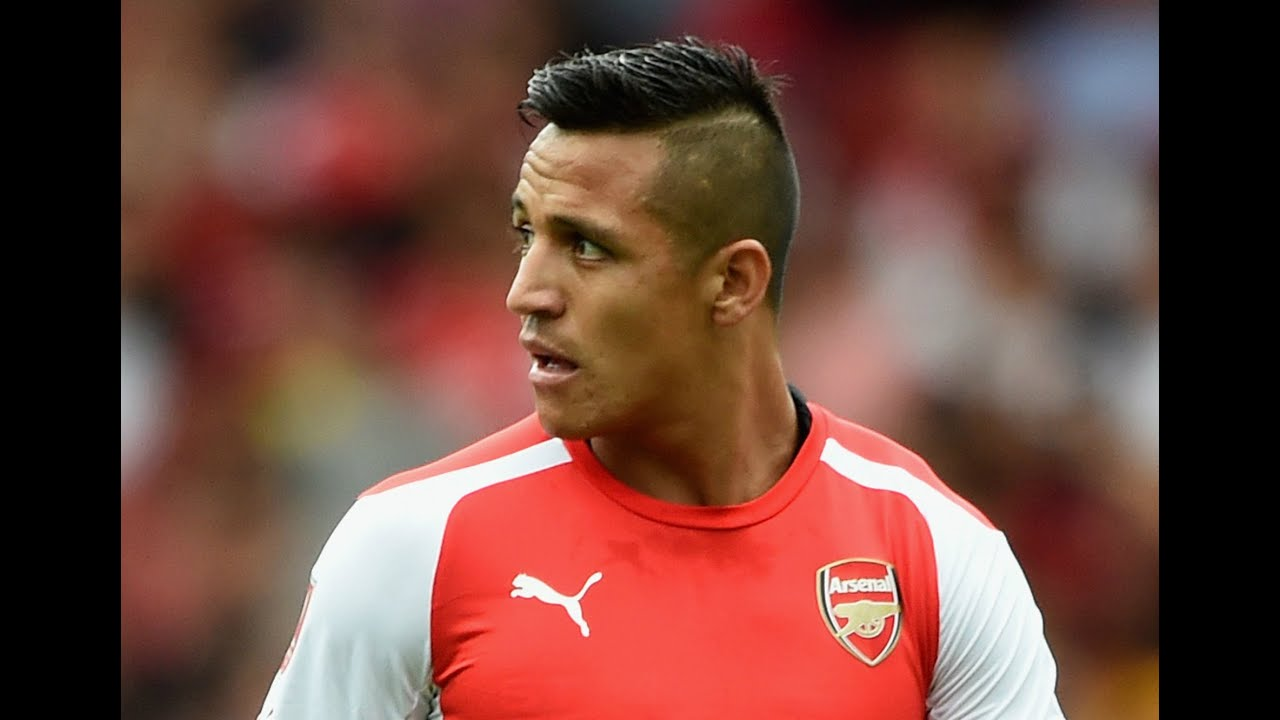Alexis Sanchez hairstyle  YouTube - Hairstyles For 2015