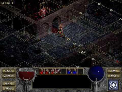 Diablo 1 - Killing The Butcher (AHH, FRESH MEAT!)
