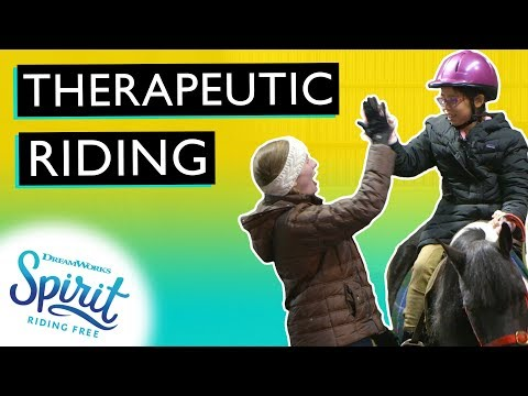 Therapeutic Horseback Riding & Why It's So Awesome!   THAT'S THE SPIRIT