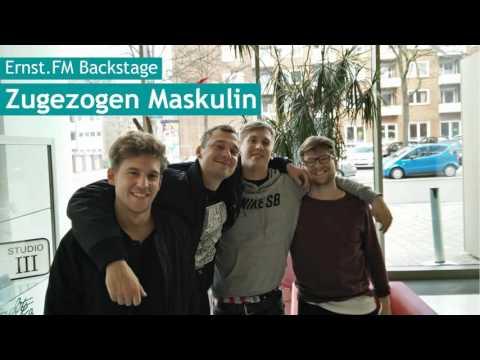 """Zugezogen Maskulin: """"Seid ihr Künstler oder scheiß Autohändler?""""   Ernst.FM Backstage"""
