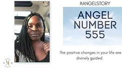 Angel Number 555:: The Changes In Your Life Are Divinely Guided.✨💫 #angelnumbers