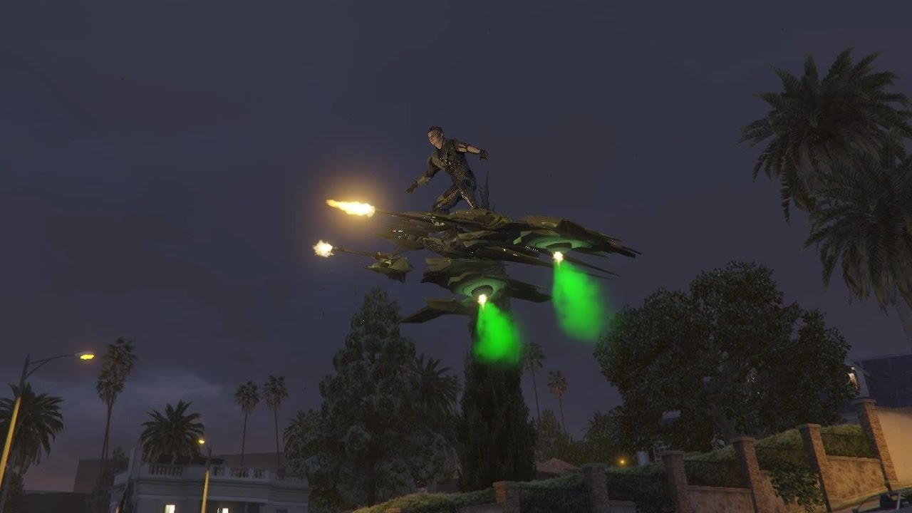 [WIP] Green Goblin mod for GTA V by JulioNIB - New glider and ped model by  RareFacer
