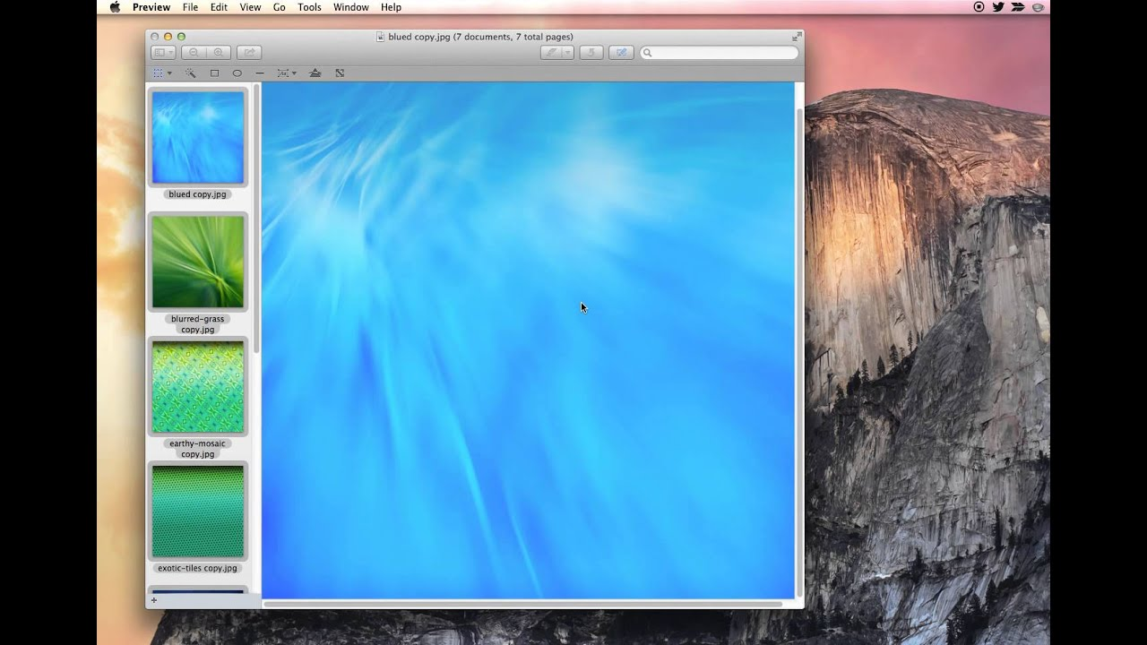How to Batch Resize Multiple Photos in Mac OS X with Preview