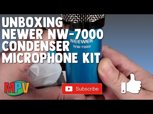 UNBOXING || Neewer NW-7000 Condenser Microphone Kit