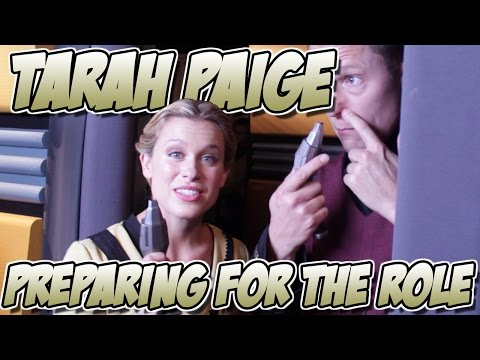Tarah Paige - Preparing For The Role