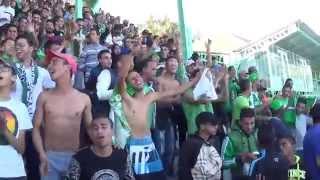 Ock vs Raja 0 - 1, شاهد ردة فعل جمهور الرجاء مع الشرطة بعد نهاية المباراة في خريبكة