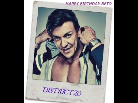 District 20 e-birhtday wishes for Beto Perez