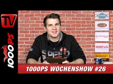1000PS Wochenshow #26 - Neuigkeiten und Nachrichten von 1000PS