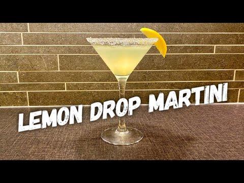 Let's Make A Lemon Drop Martini